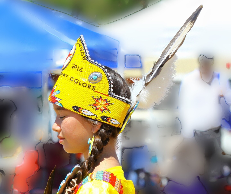 "Corina Roberts (Osage, Cherokee), ""Dancing with the Ancestors"""