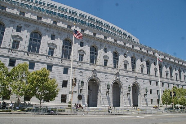 The California Supreme Court building