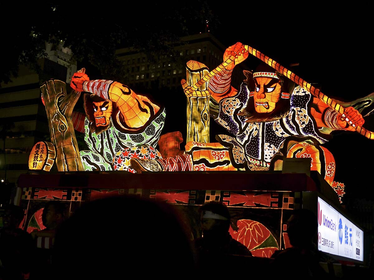 Nebuta float during Nisei week Festival | Christopher Lance/Flickr/Creative Commons (CC BY-NC-ND 2.0)