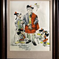 Disney Caricature featuring Tam Founder Lawrence L. Frank-thumb-350x484-61316