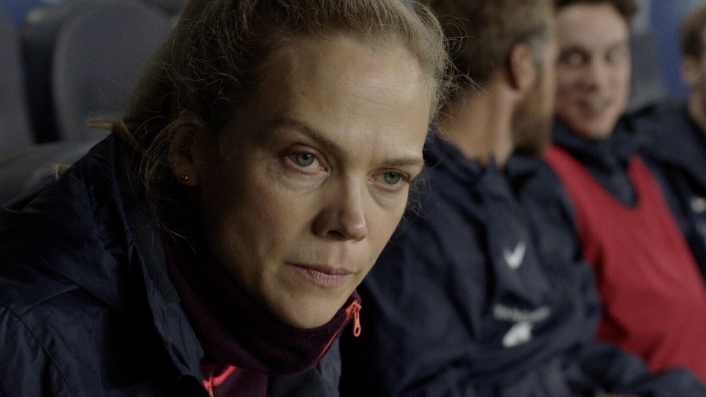 "Helena looks on with a concerned expression. | From ""Home Ground: Penalties"""