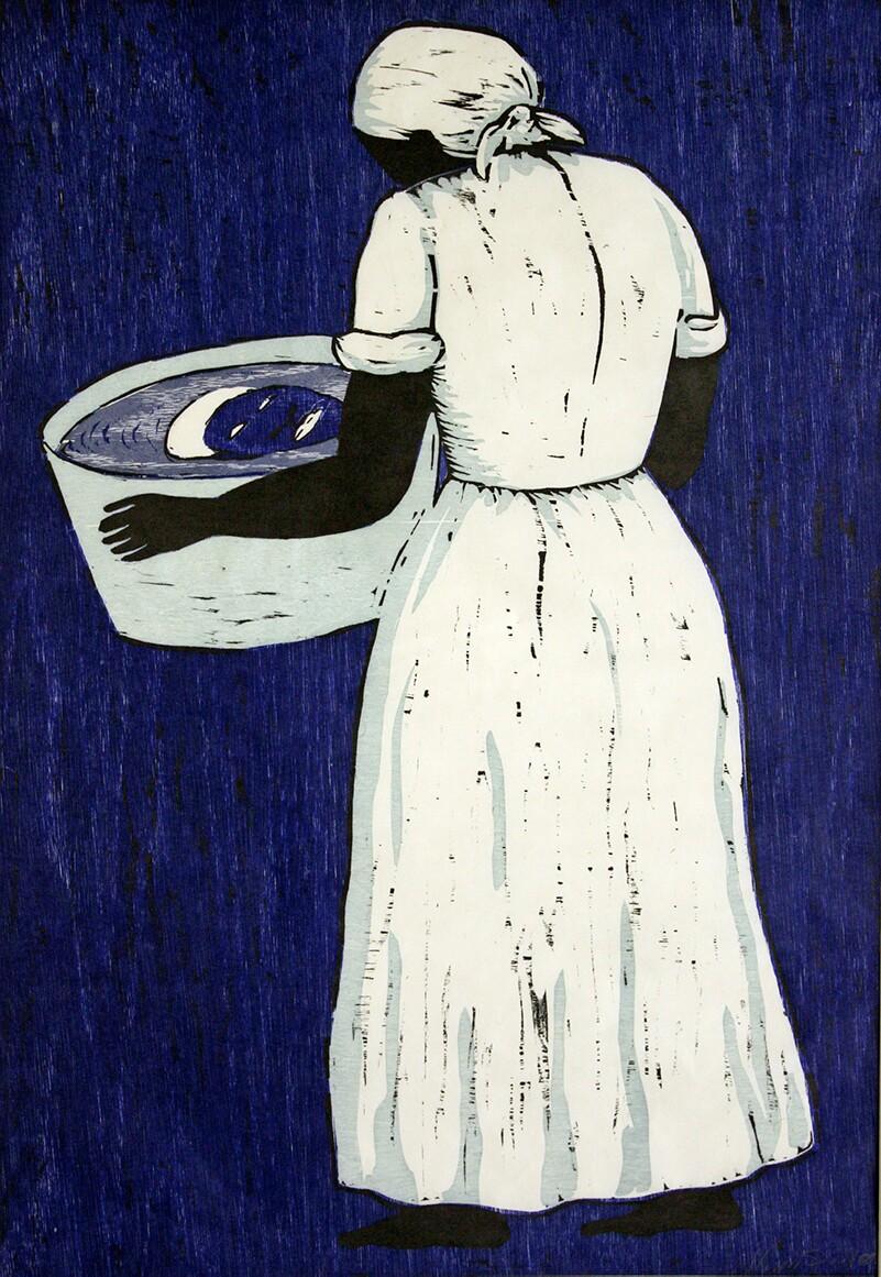 """Washtub Blues,"" Alison Saar, 2000, edition AP 5/8 | Courtesy of the Jordan Schnitzer Collection"