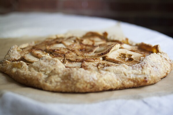Honey-Glazed Apple Galette | Photo by Maria Zizka