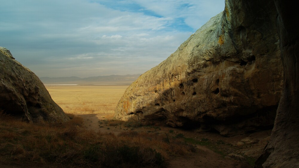 View of Carrizo Plain from Painted Rock cultural area   Photo: Anne Stahl/iStockPhoto