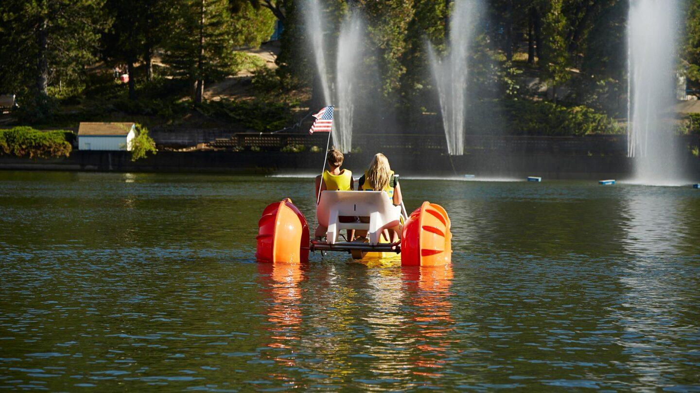 lake gregory water bike