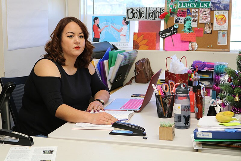 Lucy Herrera is a leadership manager at Legacy L.A.