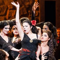 "Ana María Martínez as the title character in ""Carmen"" I Lynn Lane, courtesy of Houston Grand Opera"