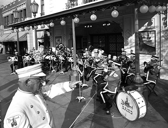 The Disneyland Band in the 1950s. | Photo: Courtesy Disneyland Resort Archives.