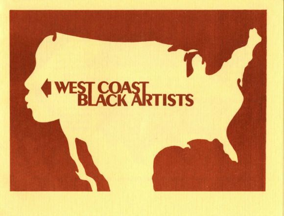West Coast Black Artists, March 17, 1975 -- April 4, 1975 at University Union Gallery, Cal Poly University, Pomona, CA. | Image: Courtesy of the Brockman Gallery Archive.