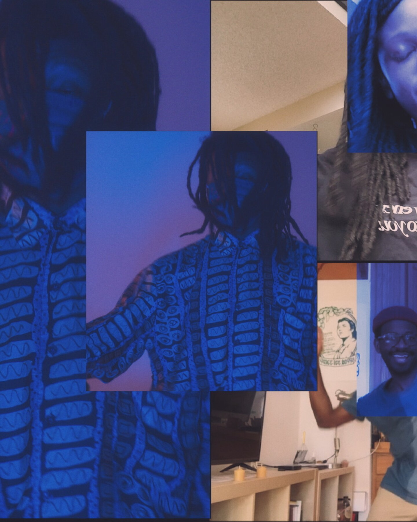 "Def Sound ""Struck"" collage 