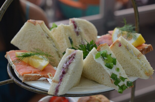 Chado Tea Room Sandwiches | Photo by Clarissa Wei