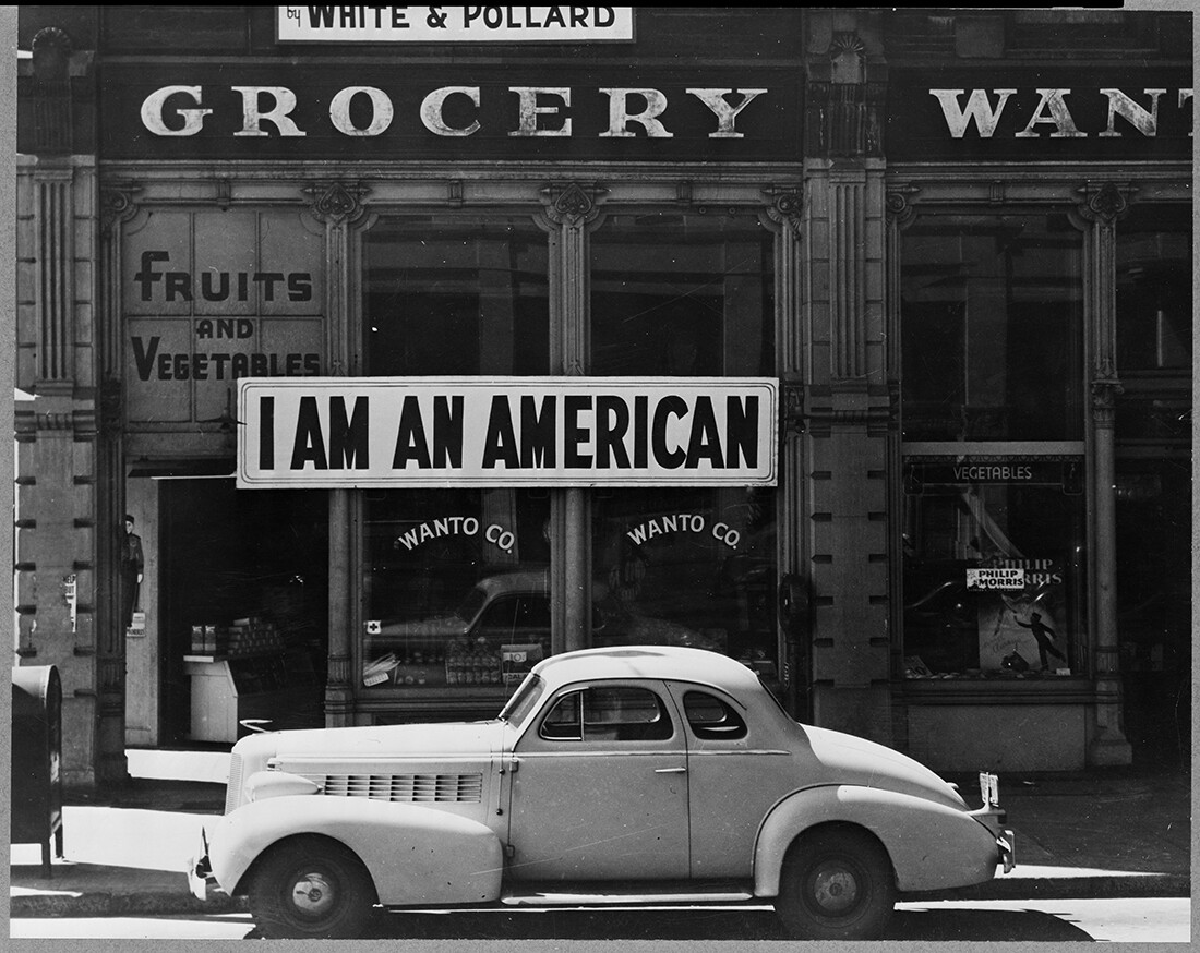 Oakland, California - Japanese American Internment