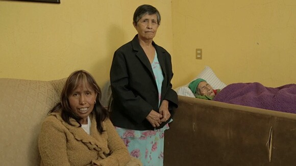 "Still from ""Soldadera,"" Nao Bustamante's documentary-in-­progress about Leandra Becerra Lumbreras and her family."