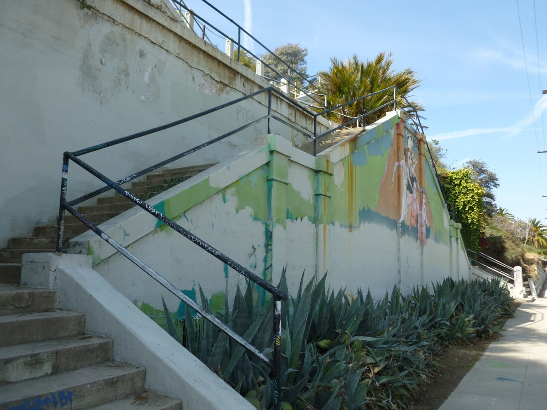 Echo Park Stairs (1)
