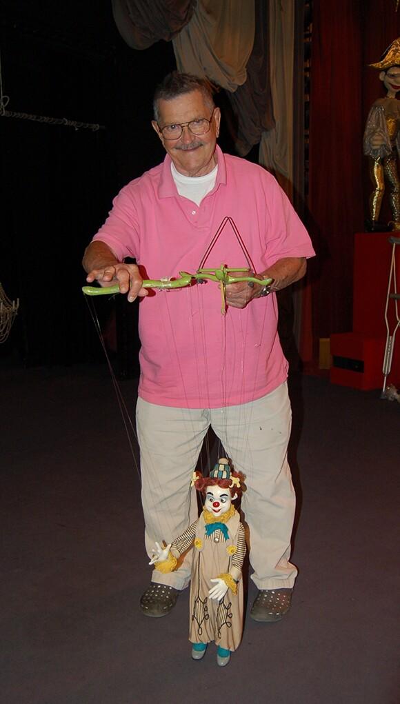 Bob Baker with Scherzo | Photo: Ariel Carpenter.