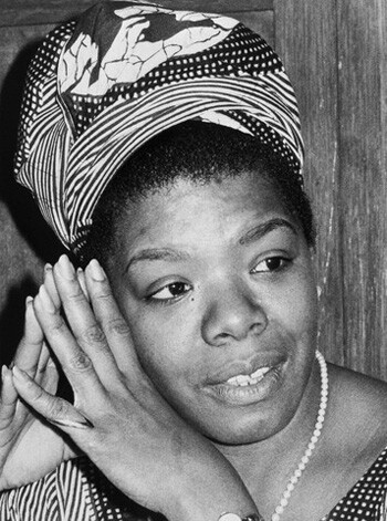 Dr. Maya Angelou in San Francisco at the time of the publication of I Know Why The Caged Bird Sings. 1970 | Photo: mayangelou.com