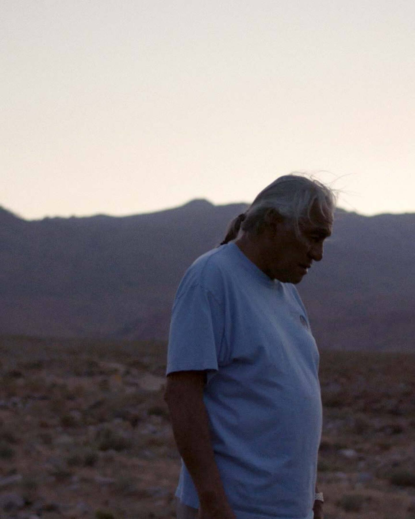 "Harry Williams, a Bishop Paiute elder and environmental activist. | Still from ""Tending Nature"" episode ""Managing Groundwater with the Paiute"""