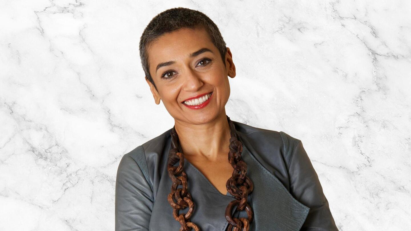 """Headshot of Zainab Salbi, executive producer and host of """"#MeToo, Now What?"""""""