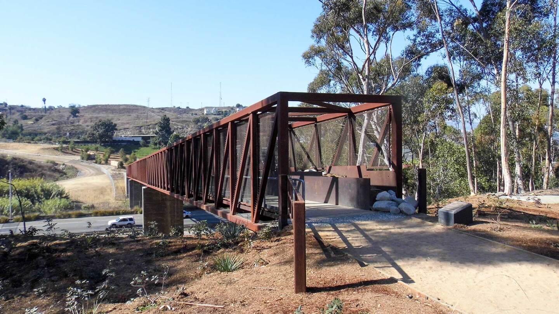 Entrance to the Park to Playa Regional Trail Pedestrian Bridge | Sandi Hemmerlein