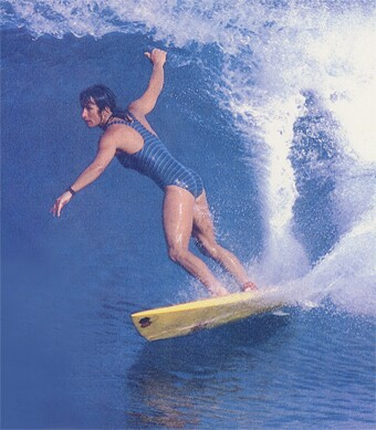 Debbie Beacham   Surfing Walk of Fame