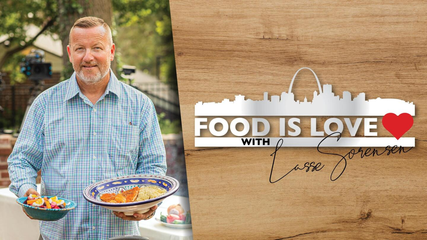 "Key Art for ""Food is Love"" featuring Lasse Sorensen."