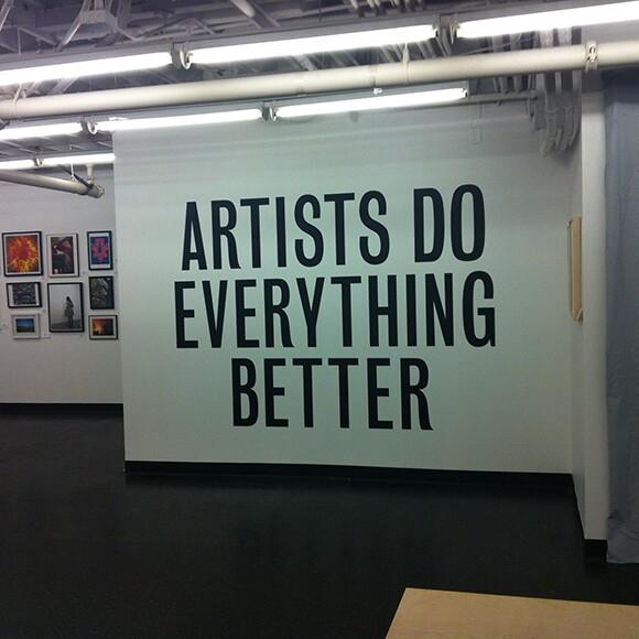 Give Good Art | Photo: Shana Nys Dambrot