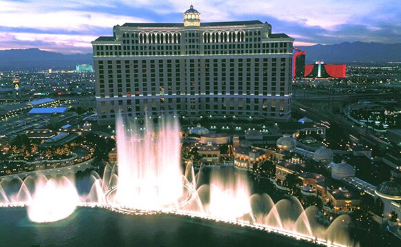 Bellagio in Las Vegas, Nevada | Courtesy of The Jerde Partnership, Inc