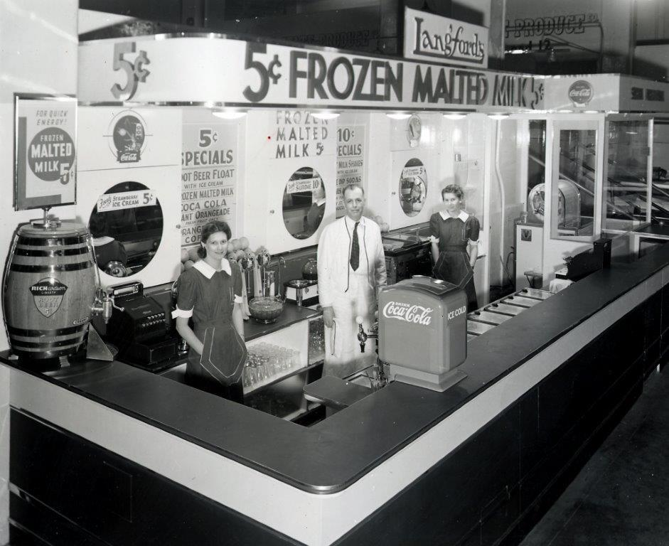 Langford's Frozen Malted Milks c. 1941 | Courtesy of Grand Central Market