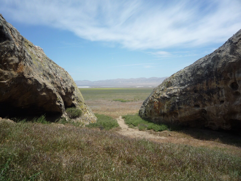 Painted Rock Hwy 58 Corrizo Plain
