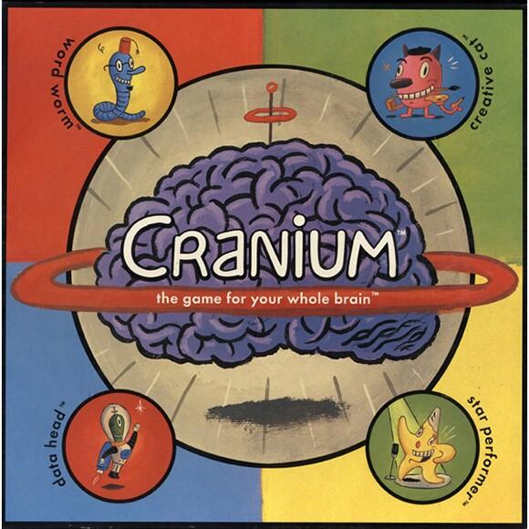 CRANIUM® & 2013 Hasbro, Inc. Used with permission.