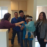 Families Become Homeowners