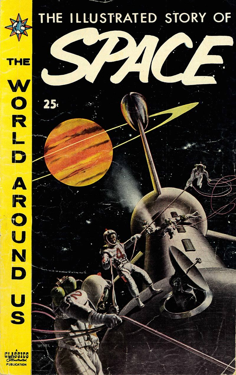 The Illustrated Story of Space, Jan. 1959 | Courtesy of Henry Cram