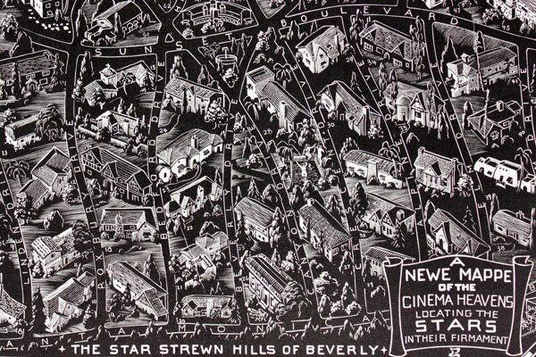 Detail of a circa 1932 wood engraving by Paul Landacre. Courtesy of the William Andrews Clark Memorial Library, UCLA. Photo credit: Jennifer Bastian.