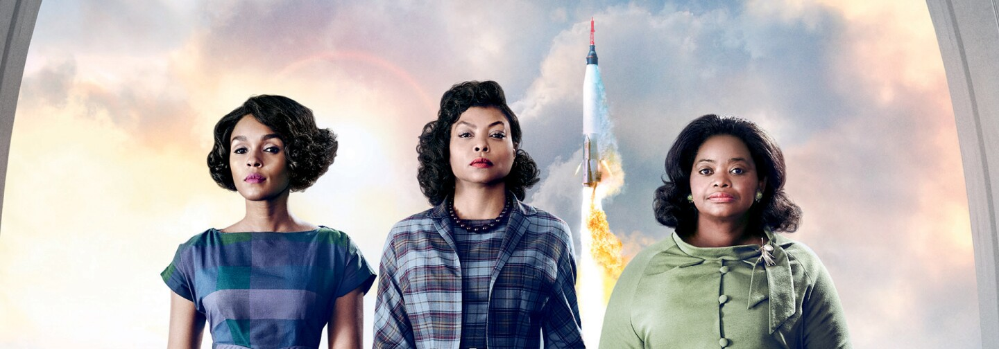 """Hidden Figures"" stars Taraji P. Henson, Octavia Spencer and Janelle Monáe"