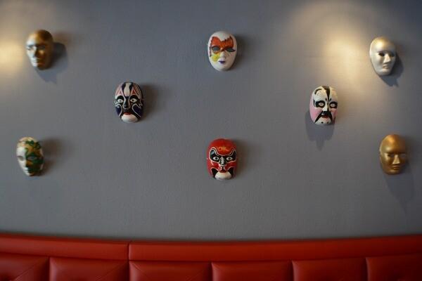 Sichuan 'bianlian' opera masks | Photo by Nick Yee