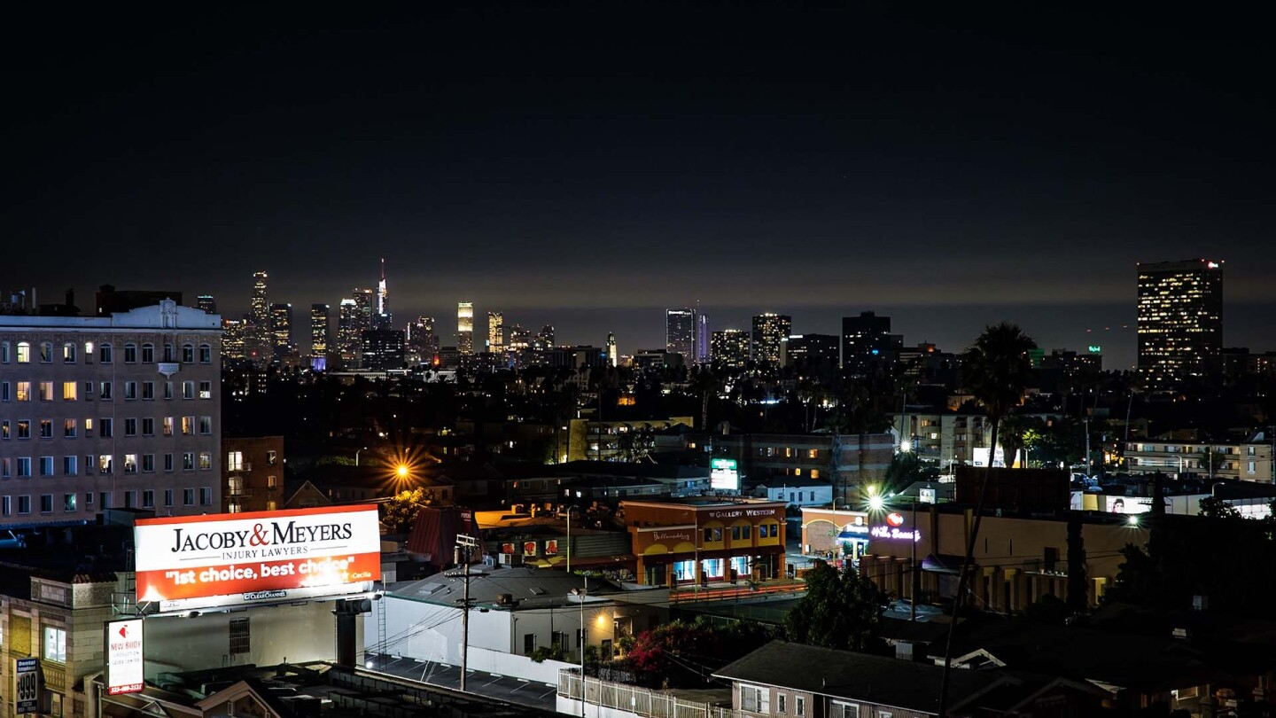 Los Angeles Skyline, 2019. | Kwasi Boyd-Bouldin
