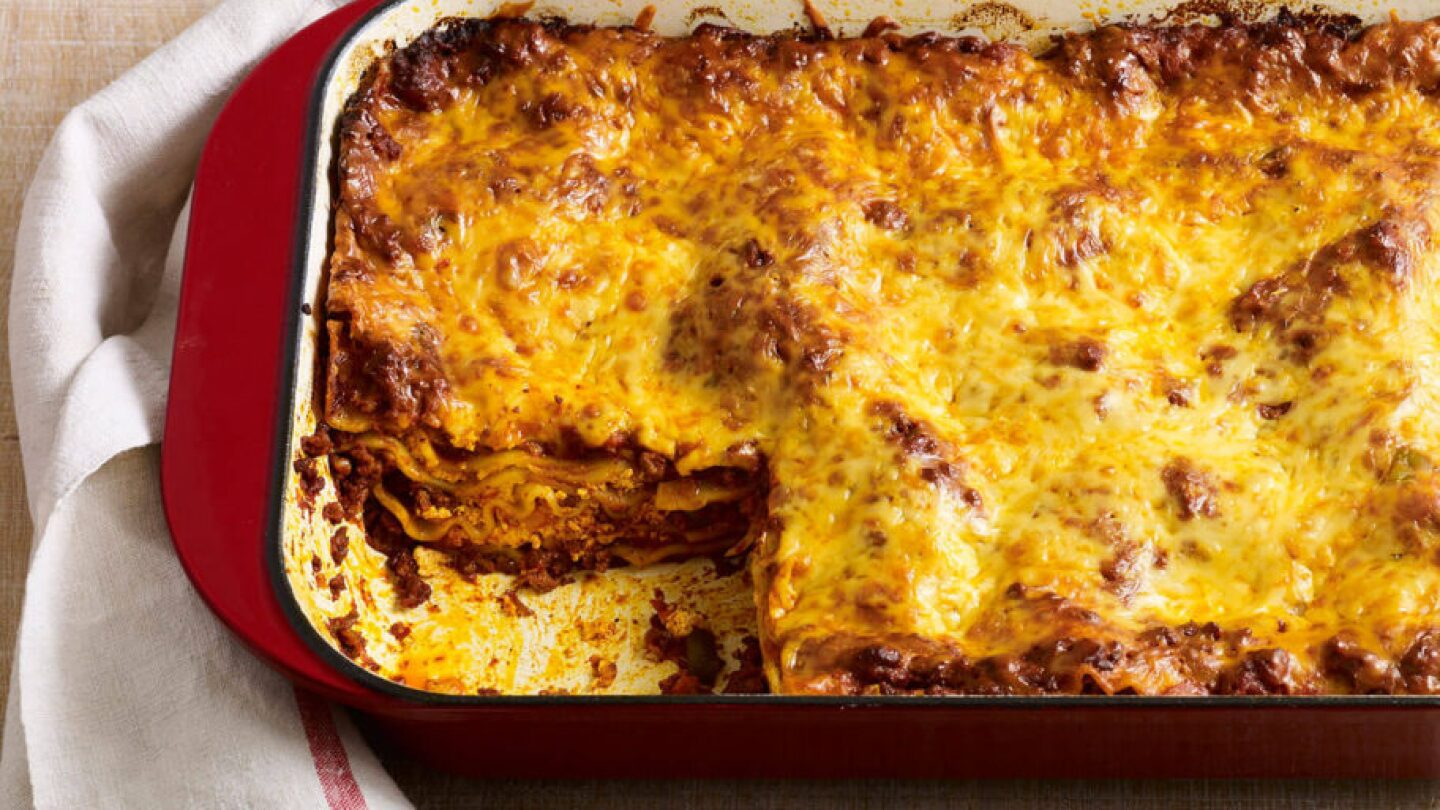 """Yucatecan-style lasagna 