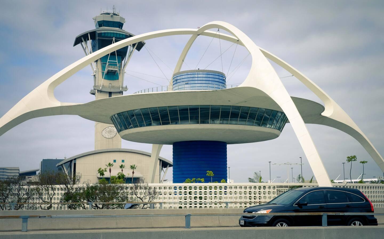 "LOST LA ""Paul Revere Williams: An African-American Architect in Jet-Age LA"" Pictured: The Theme Building (LAX), Courtesy of Matt Bass"