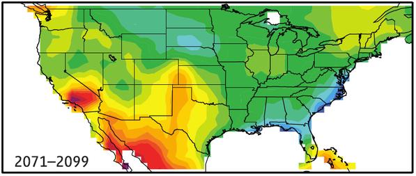 Diffenbaugh et al., Geophysical Research Letters, August 2008