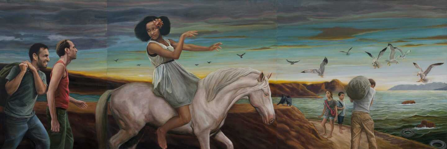 "Eloy Torrez's ""Migration"" from the AltaMed Health Services Corporation collection 