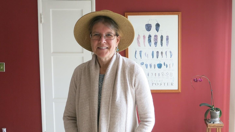 Nancy Paulikas In Hat