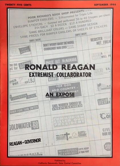 """Ronald Reagan: Extremist Collaborator"""