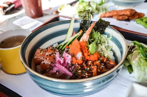 MYO Sushi | Photo by Clarissa Wei