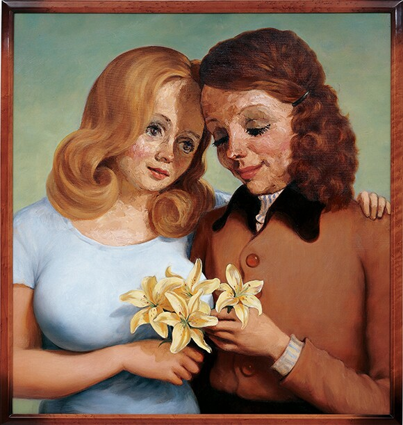"""John Currin, """"Daughter and Mother"""""""