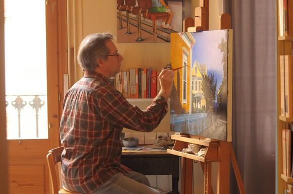 Joan Longas in his Barcelona studio | Isabel Fabregues