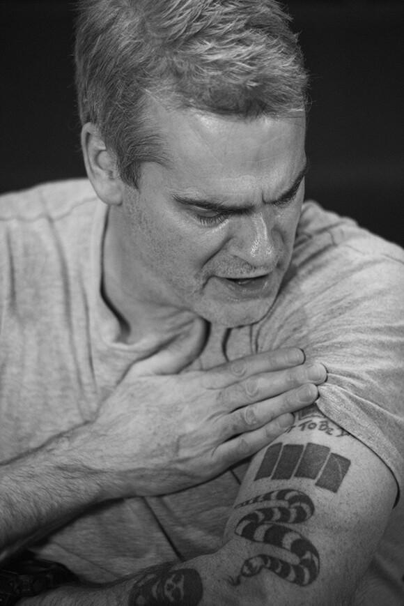 Henry Rollins   Photo: Atiba Jefferson.