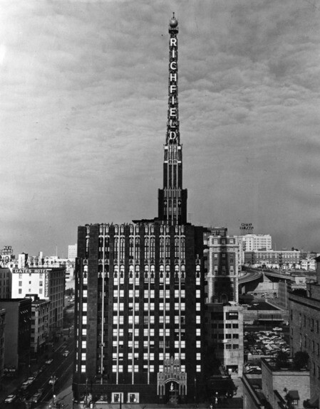 Richfield Building by Stiles O. Clements | Courtesy of the Los Angeles Public Library